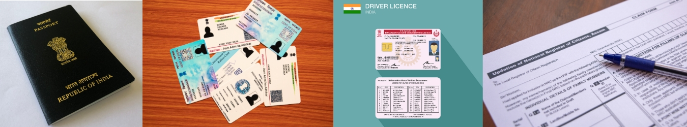 Banking and Govt ID card Services