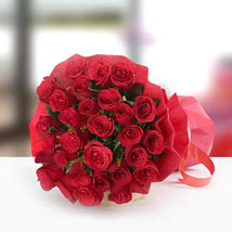 30 Red roses Bunch