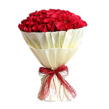 Authentic Red Roses Bunch